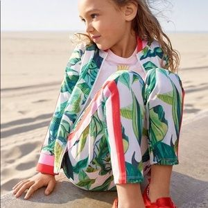 Girl's Michelle Morin leafy track suit 🐞🌿